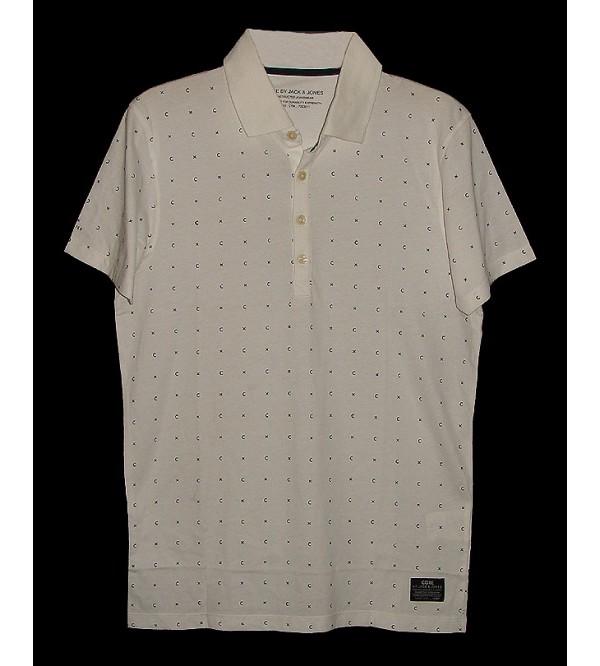 Mens Printed Fashion Polo