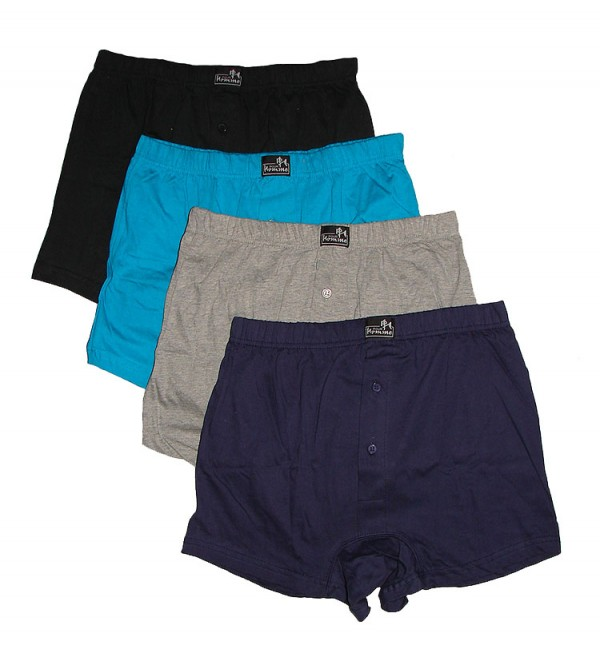 Mens Boxer Shorts 4 pc pack