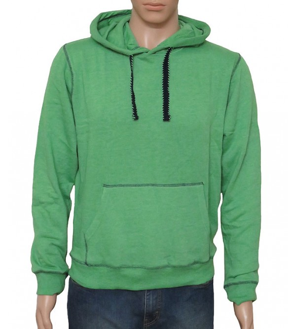 Mens French Terry Hooded Sweatshirt