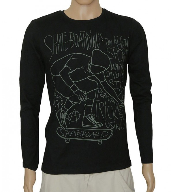 Older Boys Long Sleeve Printed T Shirts