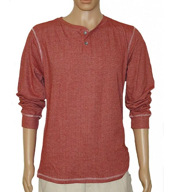 Mens Henley Long Sleeve Winter T Shirts