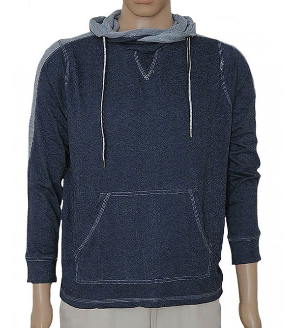 Mens French Terry Hooded Winter T Shirts