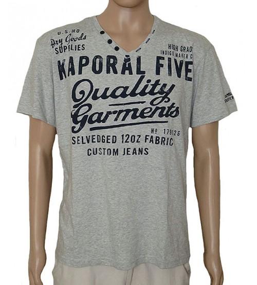 Mens Printed V Neck Fancy T shirt