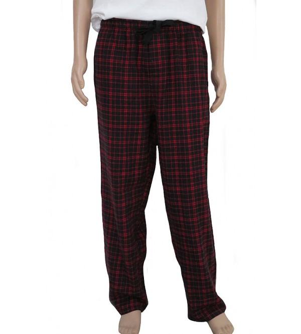 Mens Woven Flannel Pants