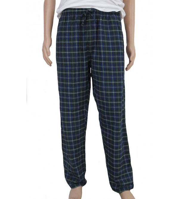 Mens Oversize Woven Flannel Pants