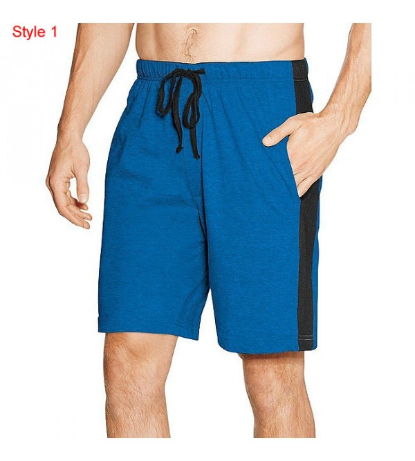 Hanes Men's Drawstring Sleep Shorts With Pockets