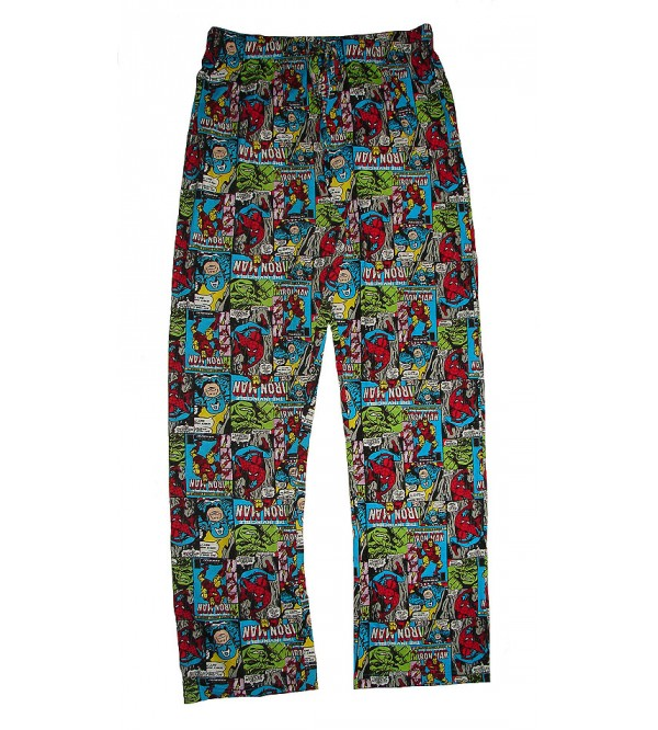 Marvel and Characters Mens Printed Night Pants