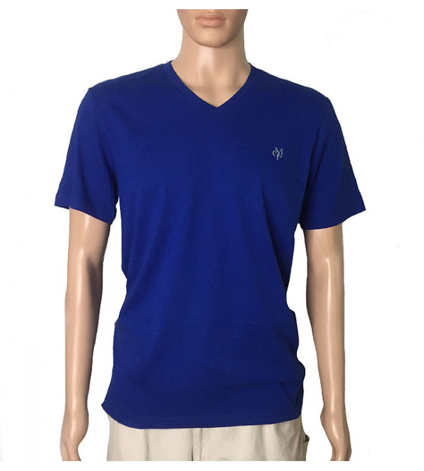 Mens Organic Cotton V Neck T Shirts