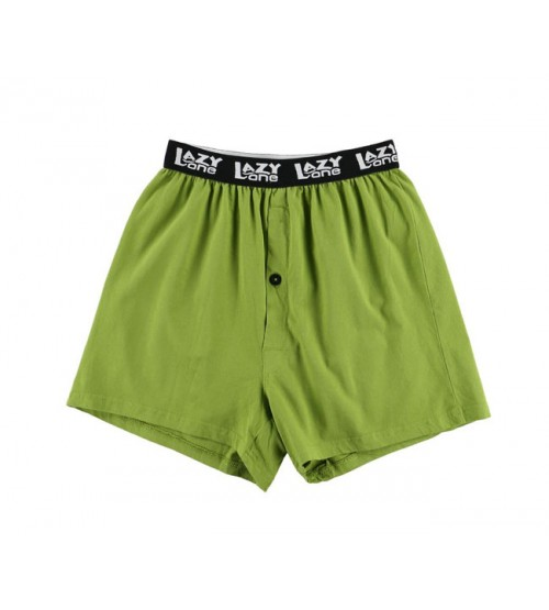 Lazy One Mens Funny Pajama Outer Elastic Knit Boxers