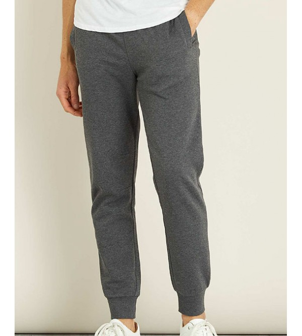 Mens Brushed Fleece Knit Joggers