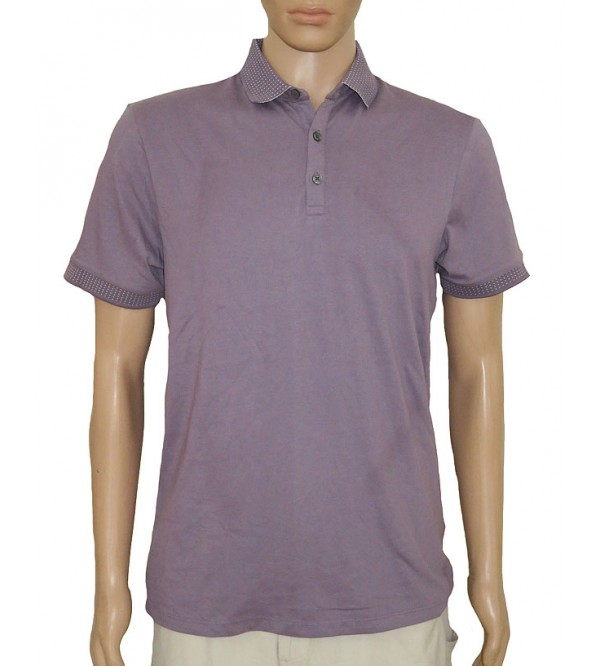 Burton Mens Jacquard Collar Polo Shirts