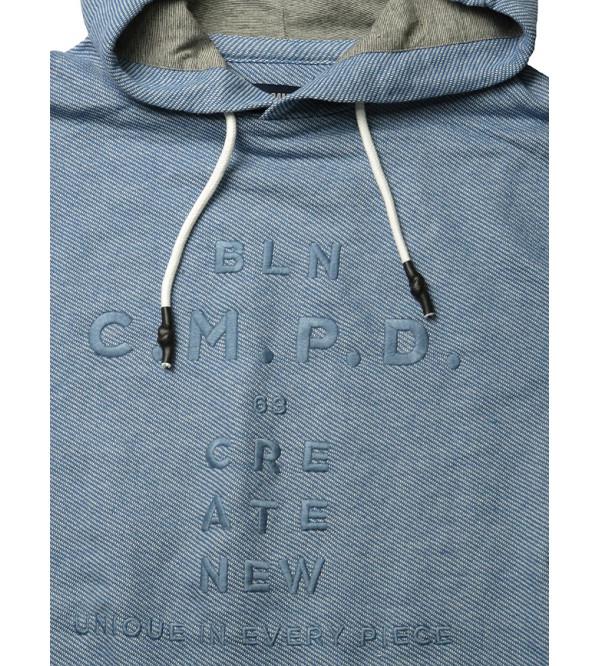 Camp David Mens Fleece Pullover Hooded Sweatshirt
