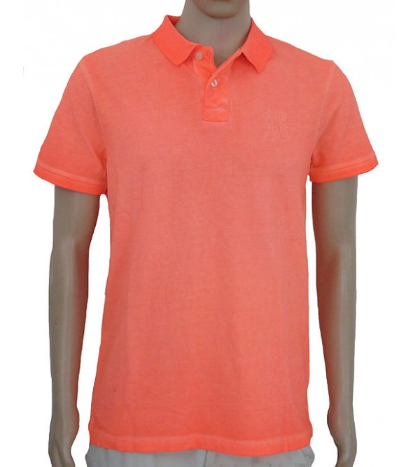 Garment Dyed Neon Polos