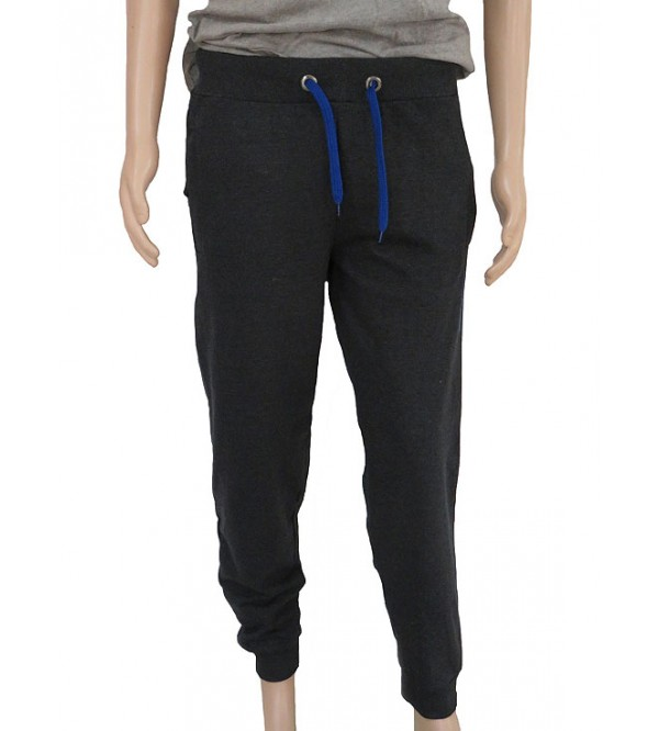 Mens French Terry Track Pants with Zipper Pockets
