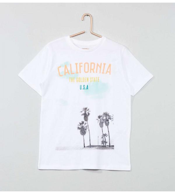 Mens Junior Short Sleeve  Printed T Shirts