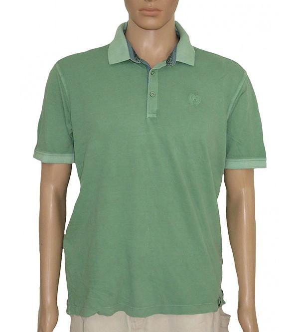 Mens Short Sleeve Washed Polo Shirts