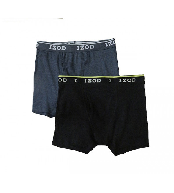 """ S "" Size IZOD Mens Boxers With Fly"