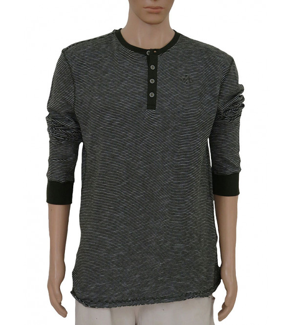 Mens Henley Neck Winter T Shirts