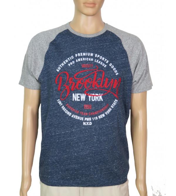 Men's Printed n Applique T Shirt