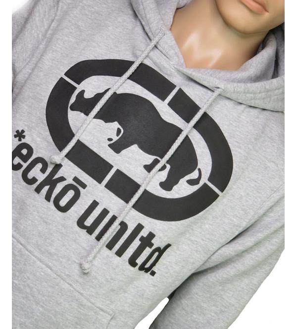 ecko unltd Mens Pullover Sweatshirt With Hoodie