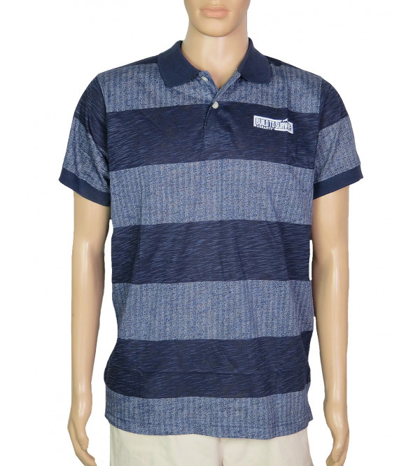 Mens Printed Polo Shirt
