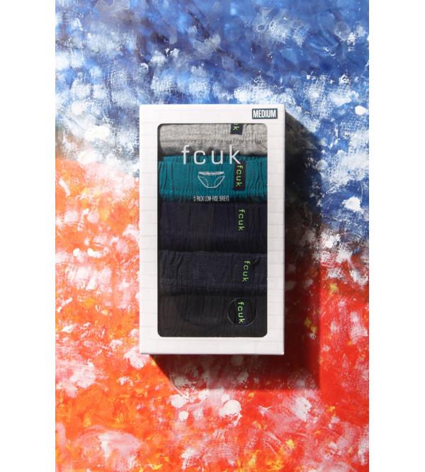 FCUK Mens Briefs 5 pc Box Pack