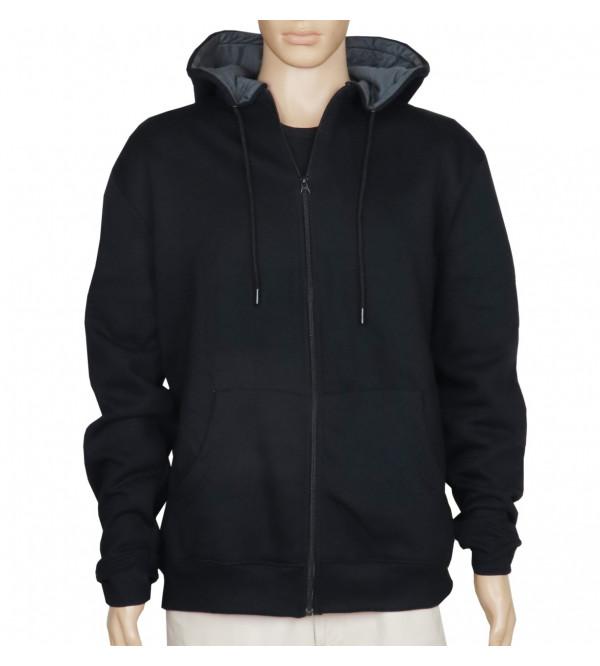 Mens Hooded Oversize Full Zipper Sweatshirt