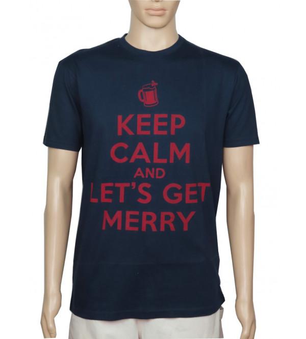 BHS Mens Printed T Shirt