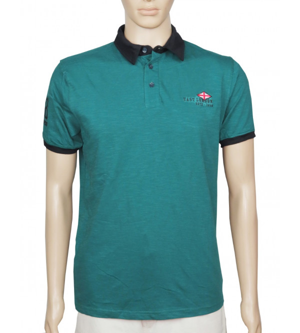 Lee Cooper Mens Slub Knit Polo
