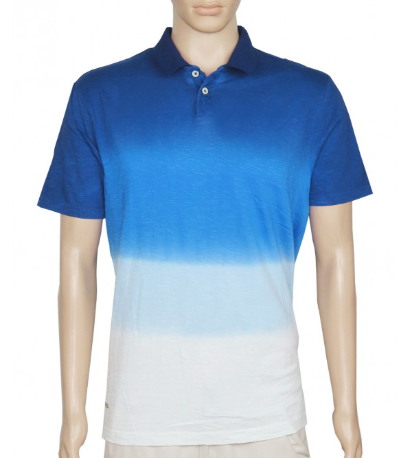 Mens Dip Dyed Polo