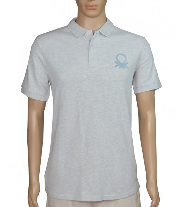 UCB Mens Polo With Felt Flock