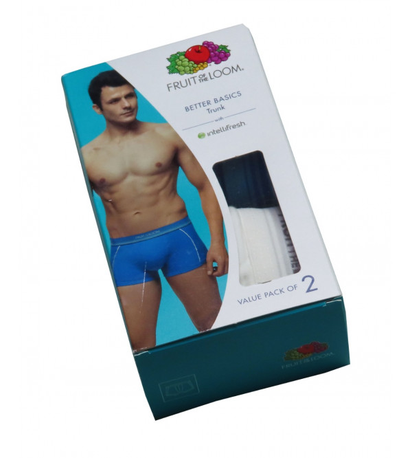 Mens 2 Pack Boxers Outer Elastix Box Packaged