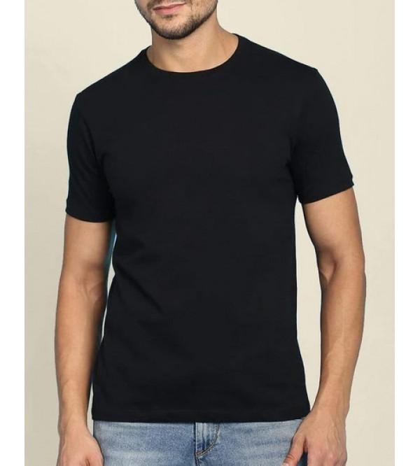 Mens Crew Neck T Shirt