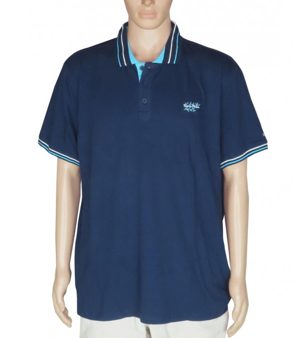 Mens Short Sleeve Oversize Polo