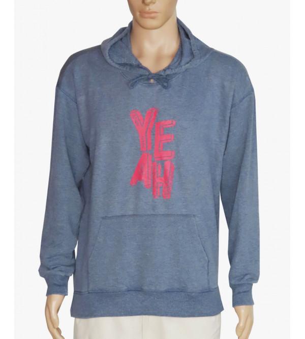 Mens Hooded Pullover Sweatshirt