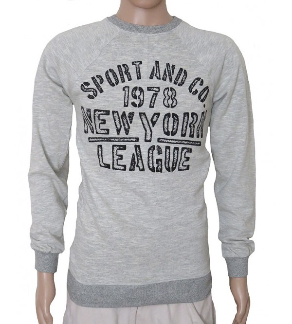 Mens Printed Pullover Sweatshirts