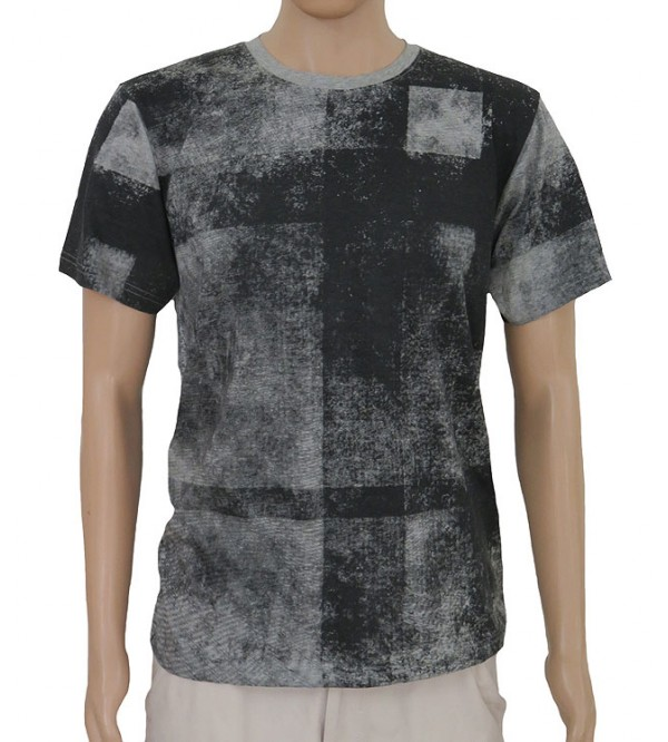 Mens Short Sleeve All Over Printed T Shirt