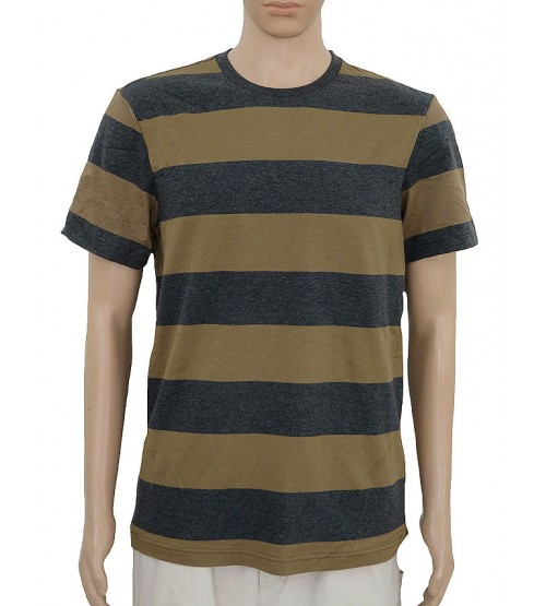 Mens Rugby Striped T Shirt