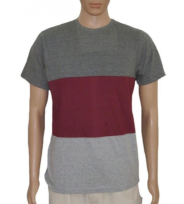 Mens Short Sleeve Cut n Sew T Shirt