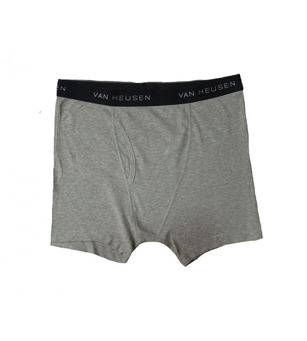 Mens Outer Elastic Knit Boxer
