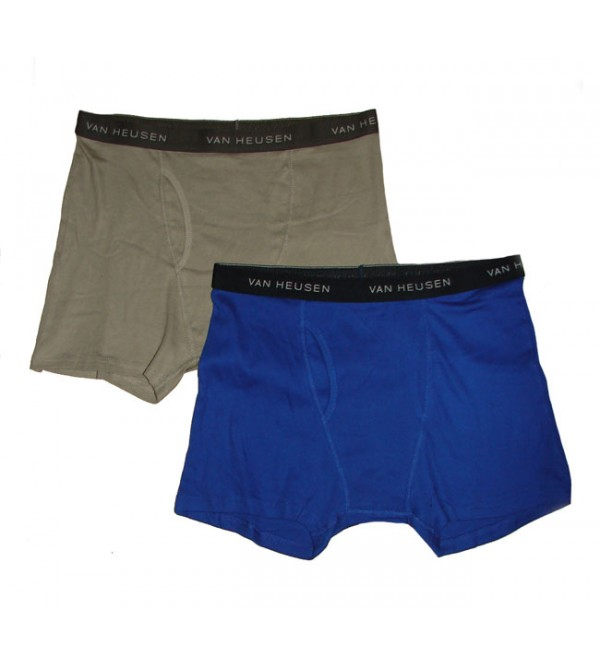 Mens Outer Elastic Knit Boxers