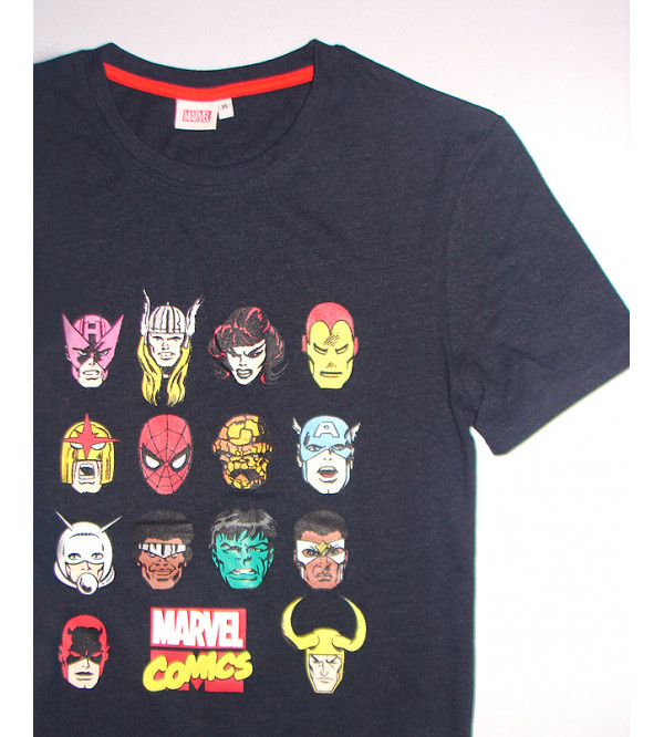 Marvel  Characters Printed Mens T Shirt