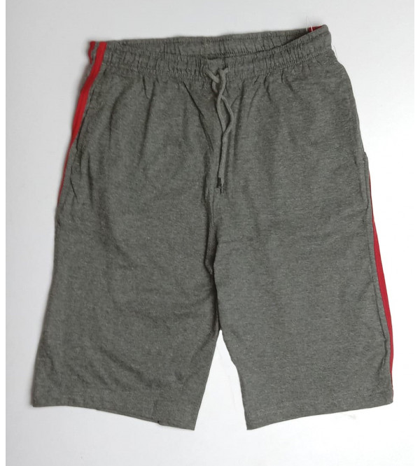 Mens Solid Knit Shorts