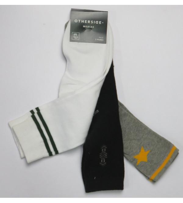 Kids Socks 3 pack Assorted