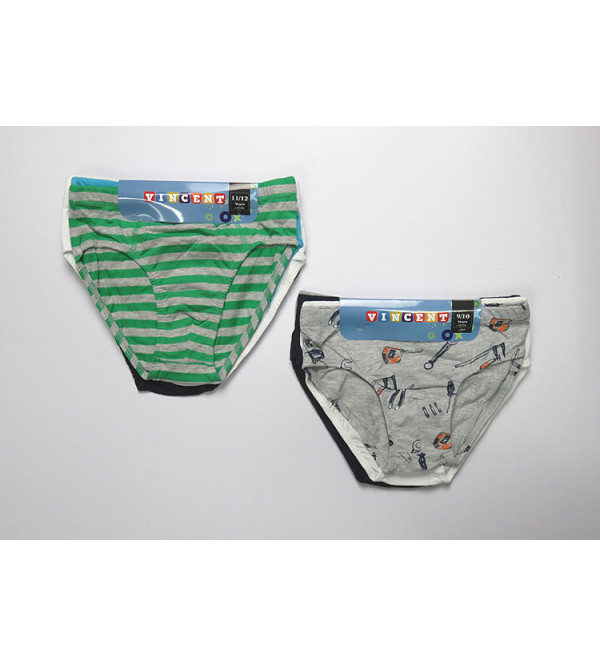 Boys Printed 5 pcs pack Briefs