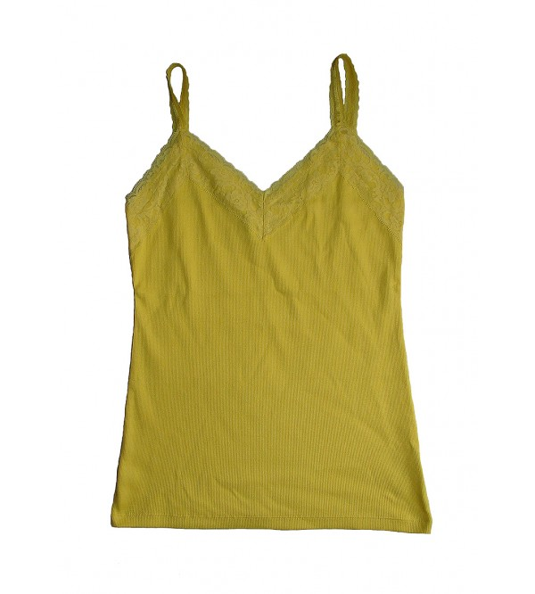 Ladies Stretch Lace Tank Top