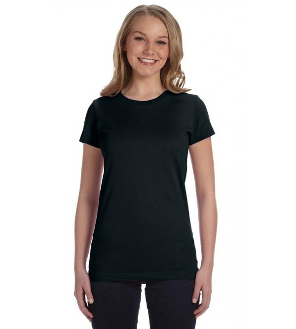 Ladies Crew Neck T Shirts