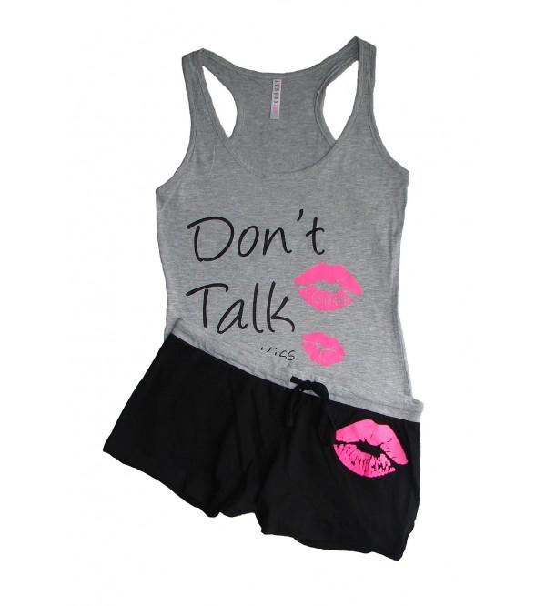 Ladies Printed Shorty Sets