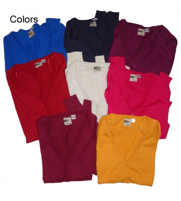 Ladies Cardigan (Sweater Knit)