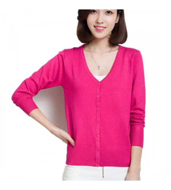 Ladies Cardigan (Sweater Knit)